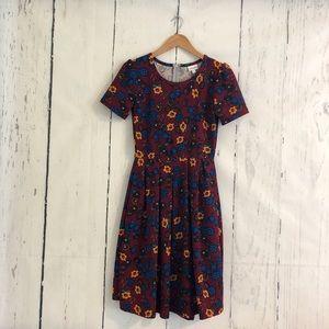 LuLaRoe Amelia Dress S NWOT